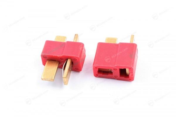 T-Stecker/Deans RC Hochstrom Stecker - Connectors Goldstecker LiPo Akku Goldkontaktstecker