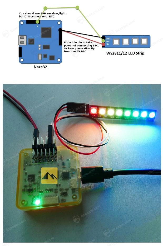 fpv-led-rgb-naze32-cc3d-stripe-matek-3