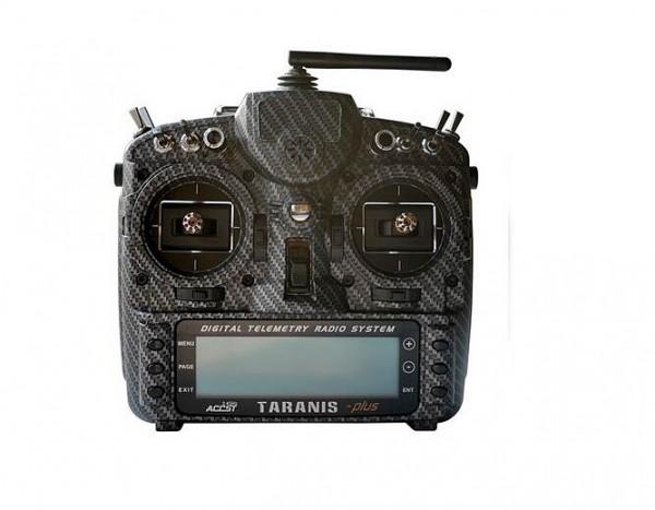 frsky taranis x9d plus se case gehause modding water transfer schwarz carbon