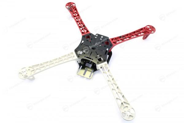 Quadrocopter Rahmen Z450 FlameWheel Rot Weiss Frame Kit