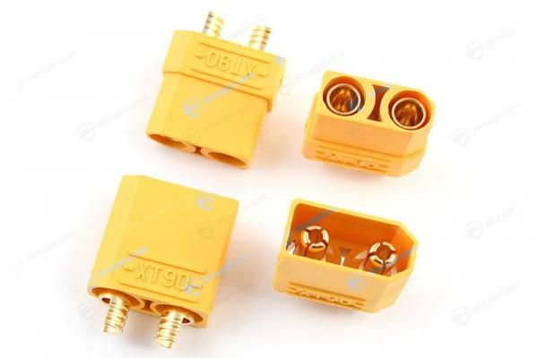 XT90 Hochstrom Stecker Buchse 4,5mm gold 1Paar