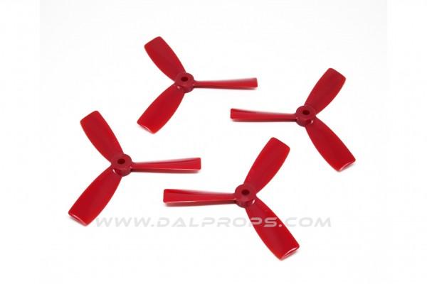 3-Blatt 3x4.5 DAL Propeller Bullnose 3045 Tri Blade 2xCW 2xCCW Schwarz