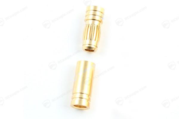 7mm Goldkontaktstecker Hochstromstecker 1 Paar Stecker/Buchse Set