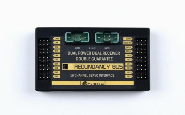 FrSky Redundancy Bus Dual Receiver & Power Power Box