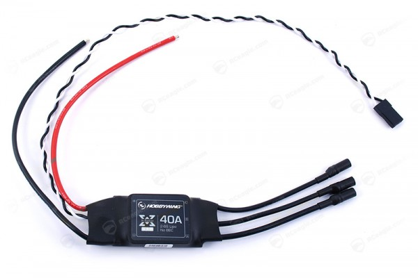 Hobbywing XRotor ESC 40A 2-6S No BEC Speed Control für Multicopters