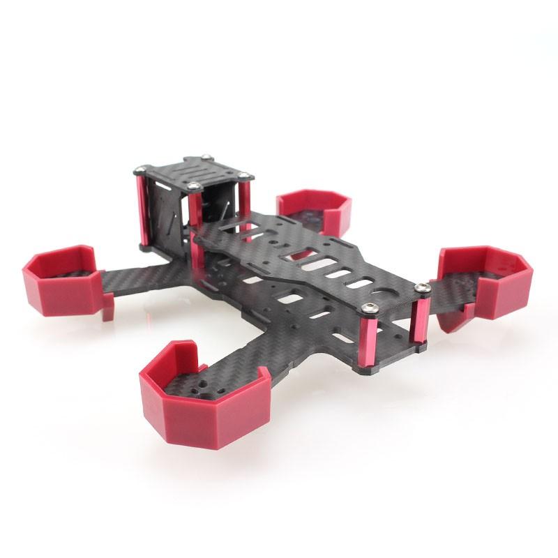 EMAX Nighthawk 170 FPV-Racer Quadrocopter Rahmen Carbon | Rahmen ...