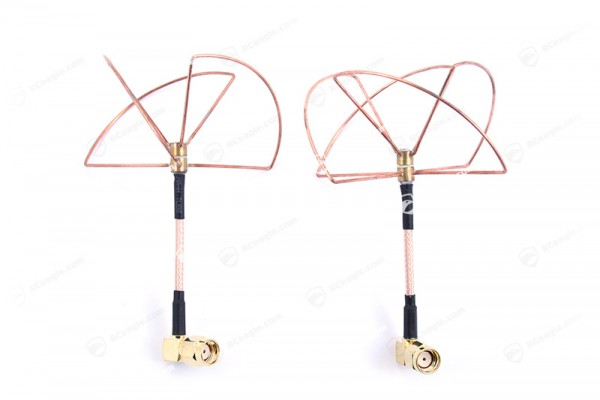 2.4GHz zirkulare Antennen Cloverleaf FPV RP-SMA