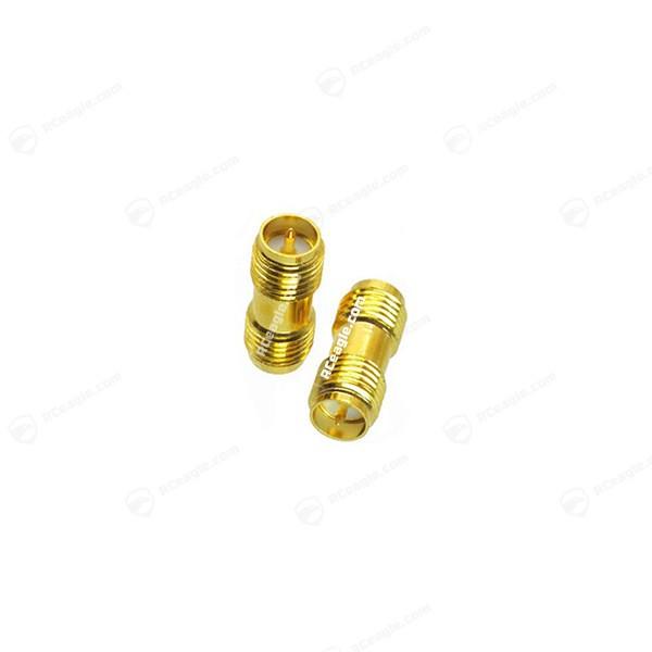 RP-SMA Buchse / RP-SMA Buchse - Adapter Gold für Antennen