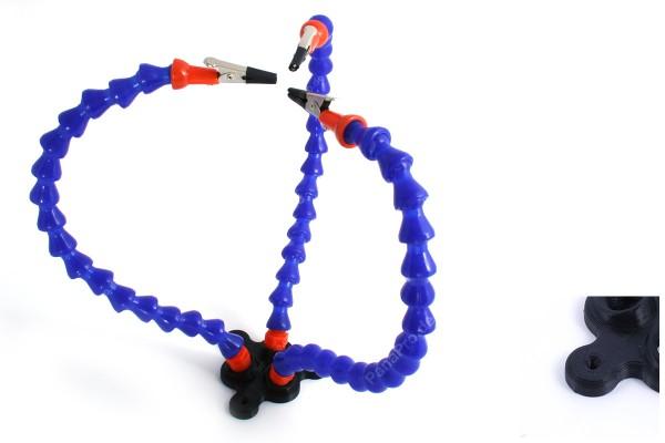 Fixierhilfe helfende dritte Hand Löthilfe Platinenhalter Löten Halter flexibel