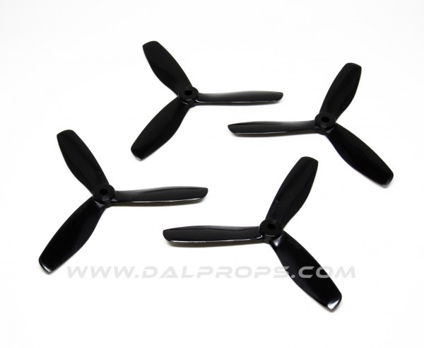 3-Blatt 4x4.5 DAL Propeller V2 4045 Tri Blade 2xCW 2xCCW